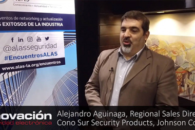 Alejandro Aguinaga, Regional Sales Director, Cono sur, Security Products, Johnson Controls