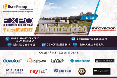 "Te invitamos a ""IP-in-Action LIVE Montevideo"" EXPO Seguridad & Conferencias"