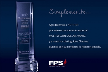 FPS nuevamente distinguido por Notifier como distribuidor destacado de LATAM.