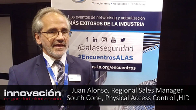 Juan Alonso, Regional Sales Manager, South Cone, Physical Access Control, HID